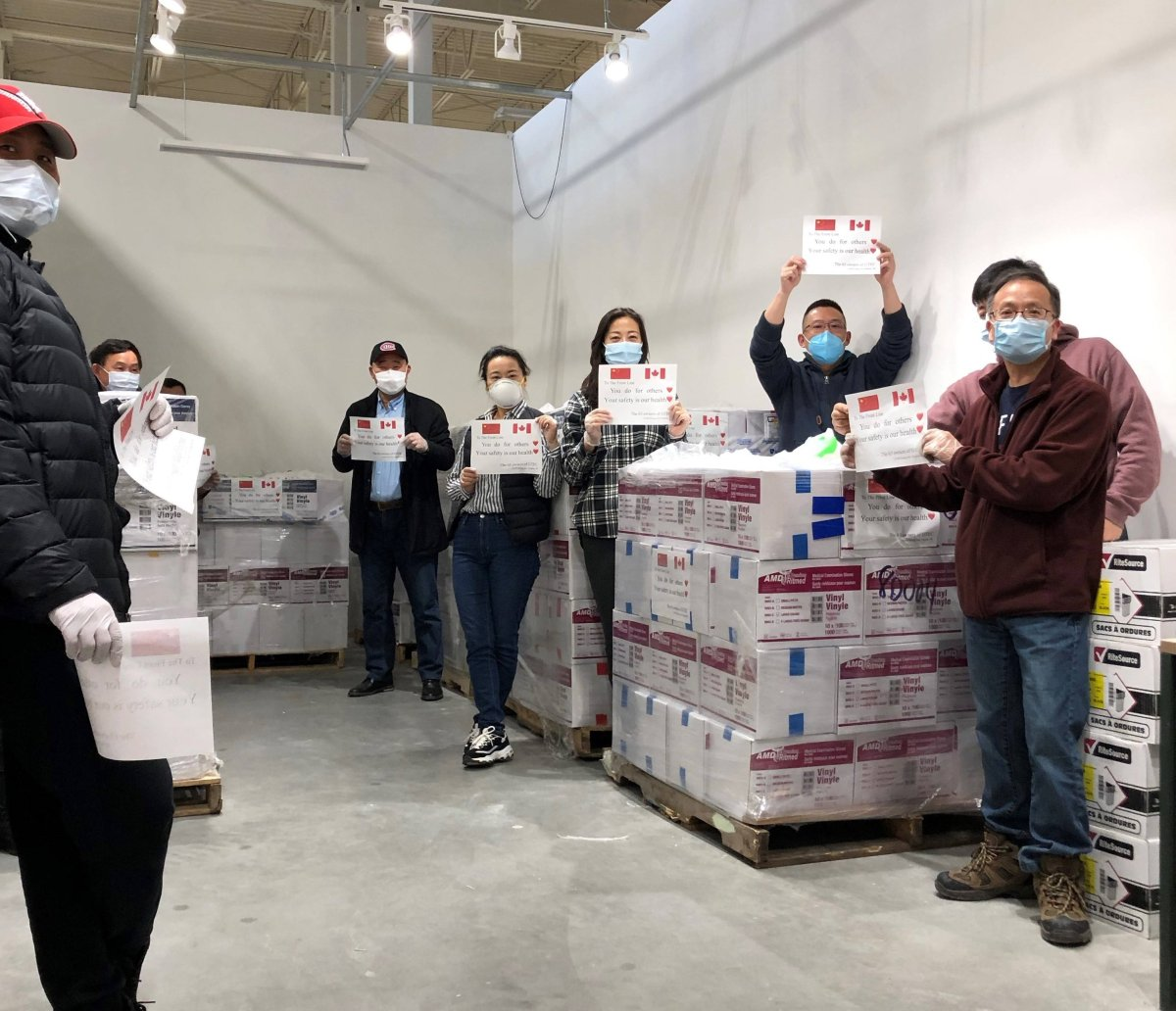 GTEC owners donate 380,000 medical gloves to support workers on the front lines.