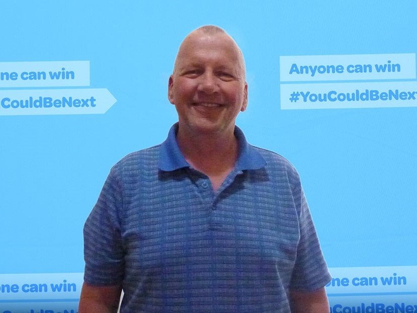 Randall McDuff of Coldstream, B.C., won the guaranteed prize of $1 million from the Lotto 6-49 draw on March 28, 2020.
