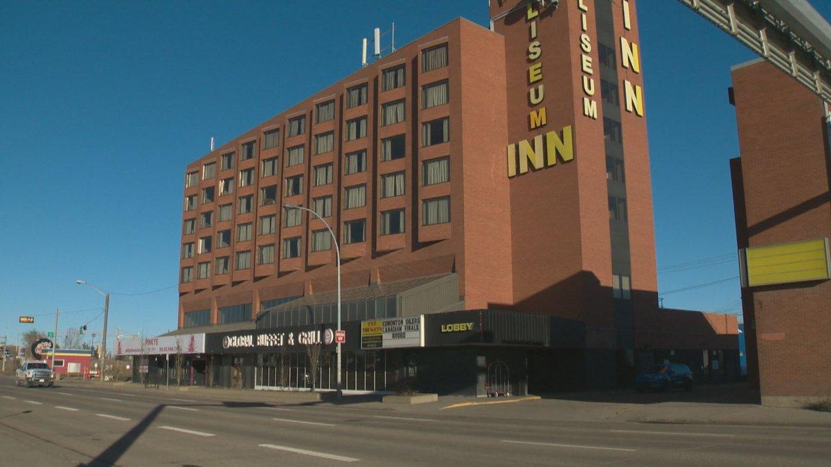 File shot of the Coliseum Inn in Edmonton.