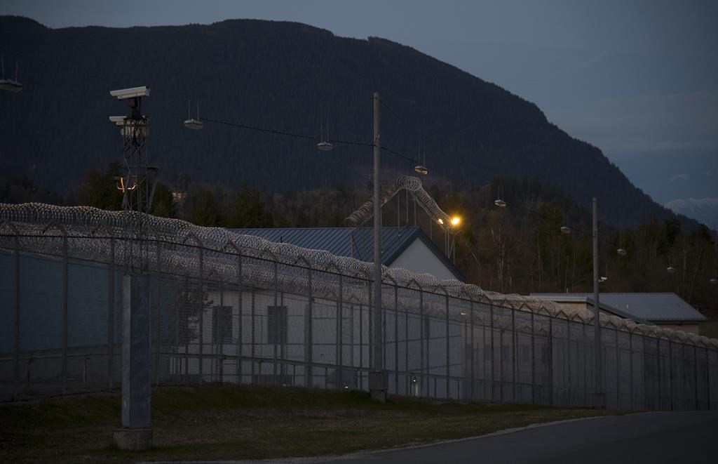 The Mission Correctional Institution in Mission, B.C. is pictured Tuesday, April 14, 2020. THE CANADIAN PRESS/Jonathan Hayward.
