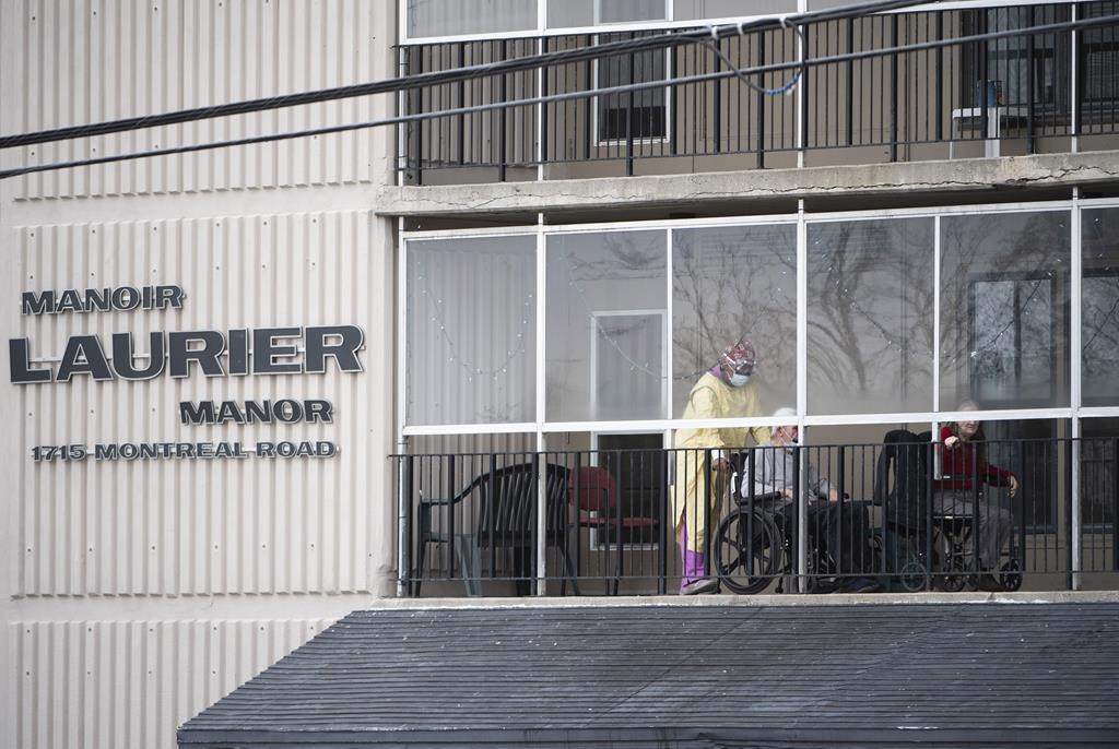 Laurier Manor is among the four Ottawa long-term care homes hardest hit by the novel coronavirus.