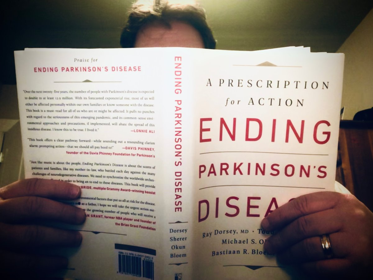 'Ending Parkinson's Disease: A Prescription for Action' is available now.