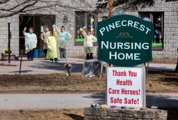 Continue reading: Coronavirus: 'Majority' of residents at Pinecrest Nursing Home in Bobcaygeon test negative