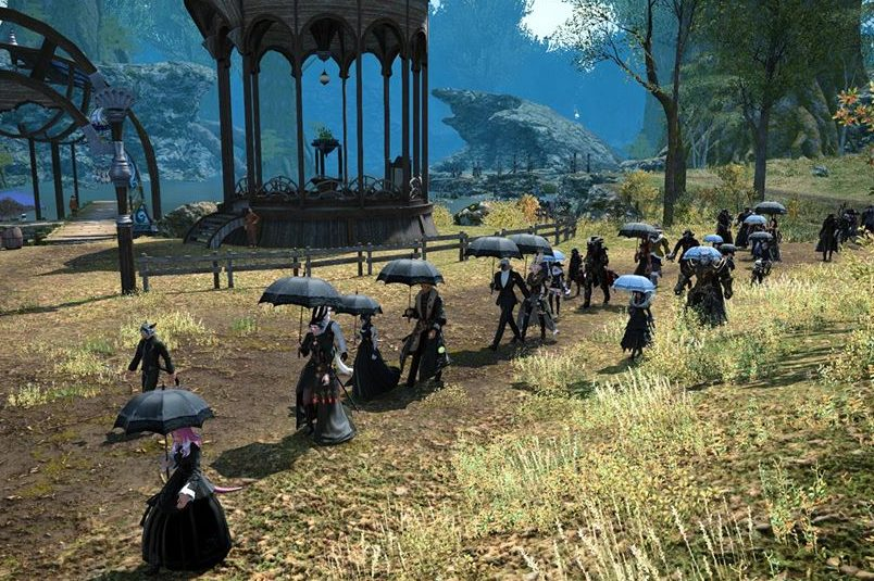Final Fantasy 14 players pay tribute to a fellow gamer who died after contracting COVID-19.