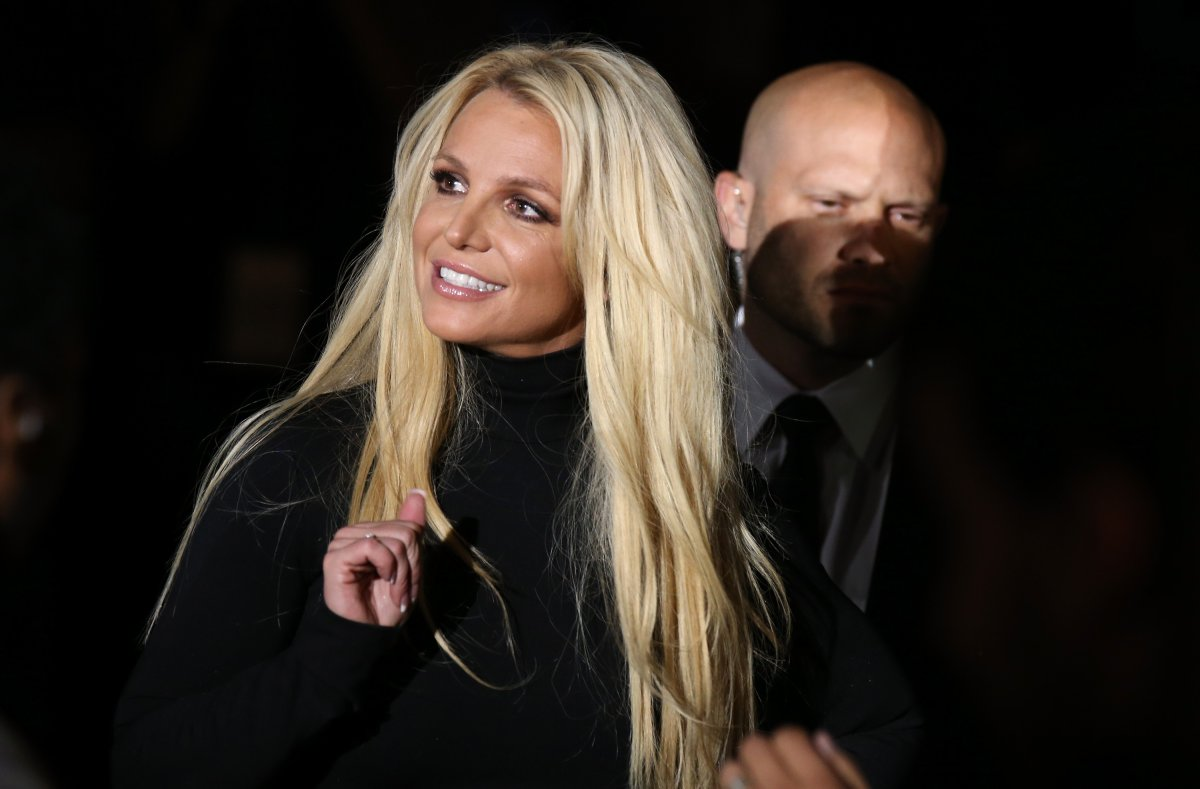 Singer Britney Spears attends the announcement of her new residency, 'Britney: Domination' at Park MGM on Oct. 18, 2018 in Las Vegas, Nev.