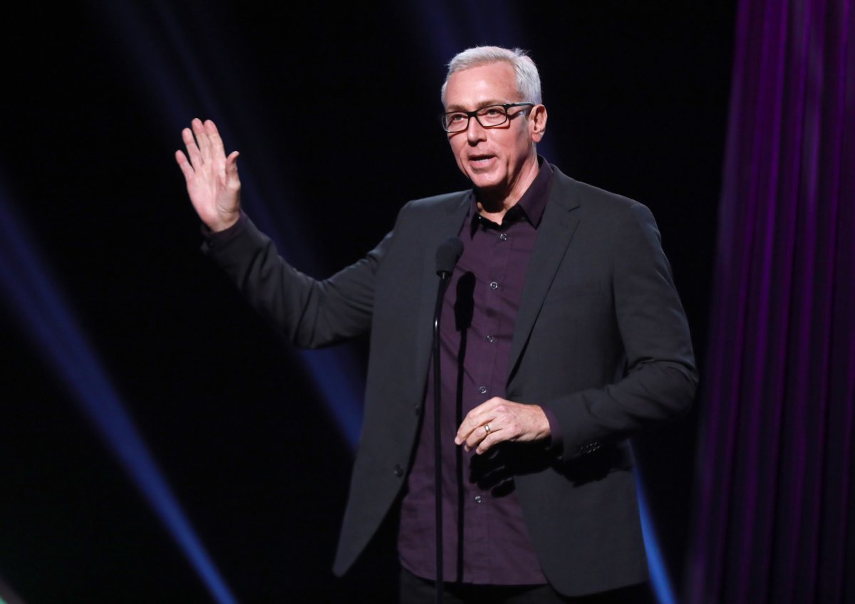 Drew Pinsky speaks onstage during the 2019 iHeartRadio Podcast Awards presented by Capital One at iHeartRadio Theater on Jan. 18, 2019 in Burbank, Calif.