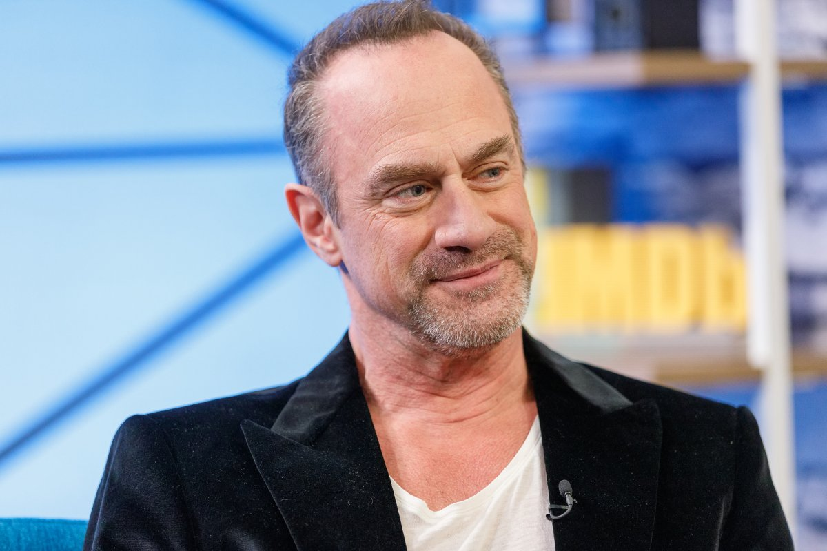 Actor Christopher Meloni visits 'The IMDb Show' on March 26, 2019 in Studio City, Calif.