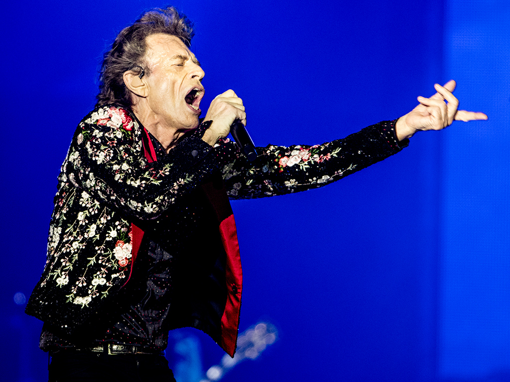 Mick Jagger of The Rolling Stones performs onstage at Hard Rock Stadium on Aug. 30, 2019 in Miami, Fla.