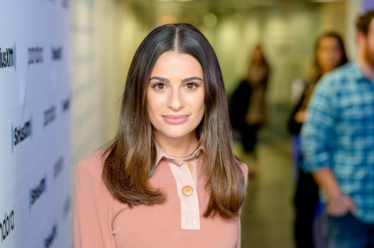 Lea Michele performs at SiriusXM Studios on Dec. 5, 2019 in New York City.