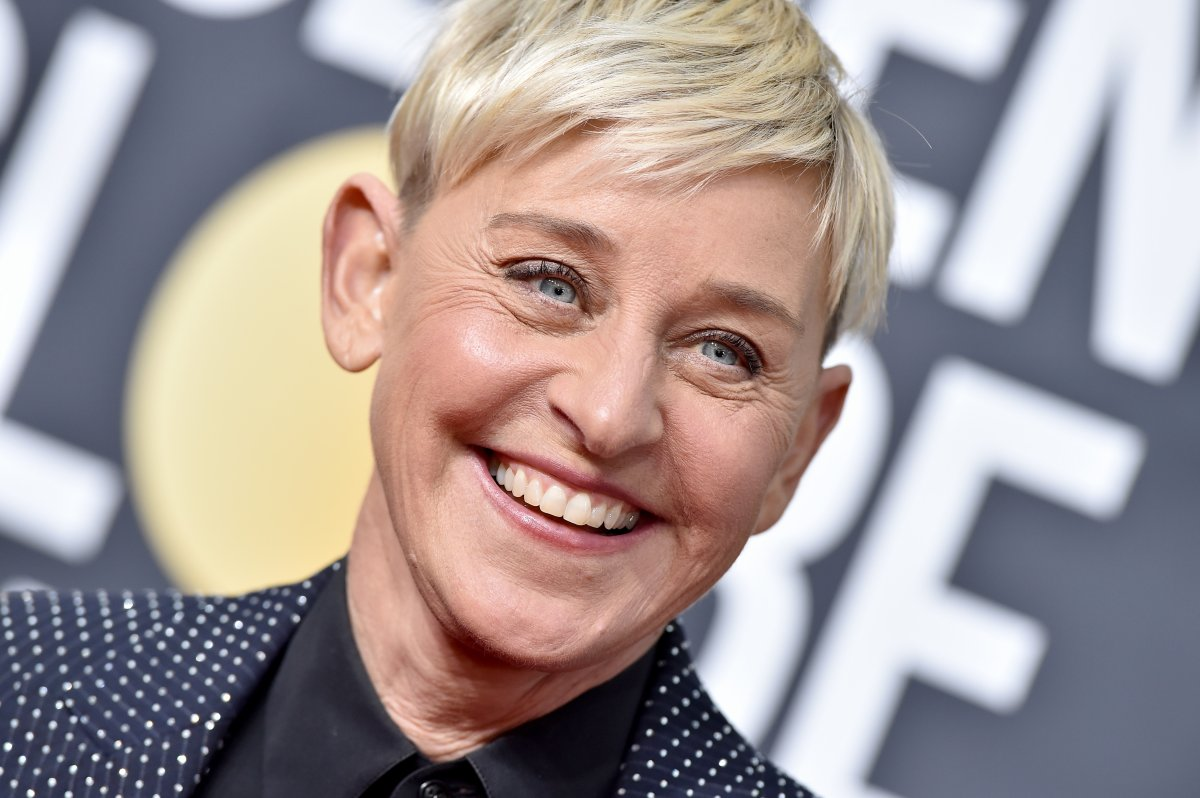Ellen DeGeneres attends the 77th Annual Golden Globe Awards at The Beverly Hilton Hotel on January 5, 2020 in Beverly Hills, California.