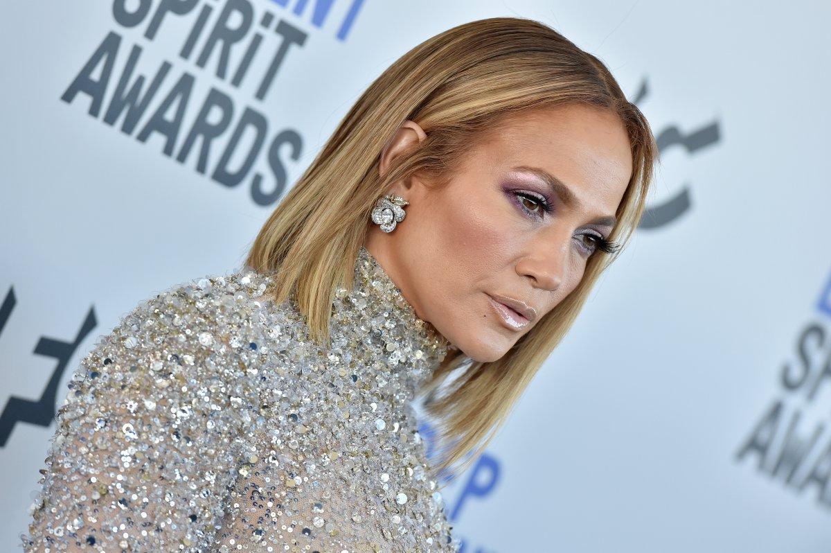 Jennifer Lopez attends the 2020 Film Independent Spirit Awards on February 8, 2020 in Santa Monica, California.
