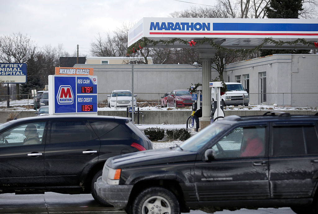 A man was kicked out of a Marathon gas station in Indiana for being Asian, he says.