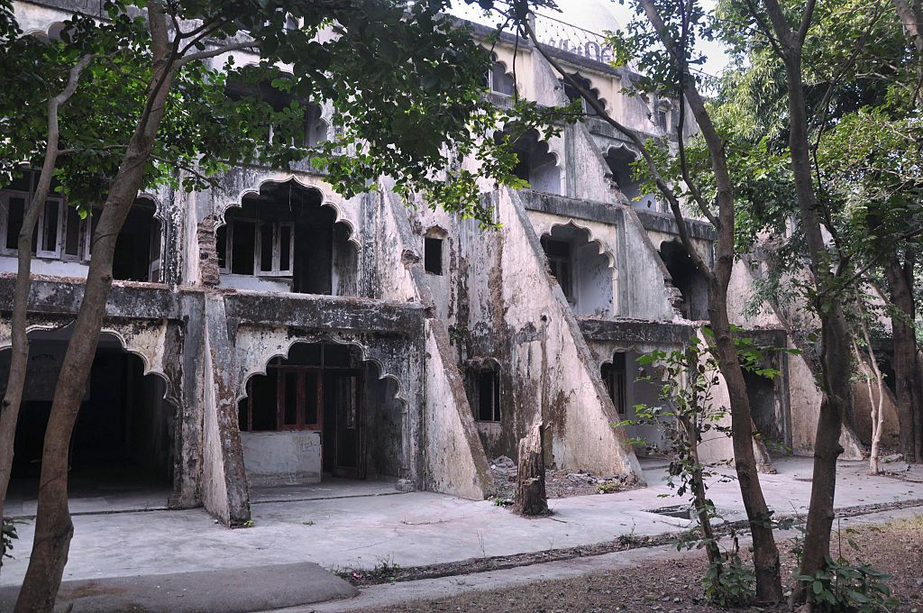 In this photograph taken on Dec. 8, 2015, dwellings are pictured at the Beatles ashram, as the former ashram of the self-styled guru Maharishi Mahesh Yogi is known, in Rishikesh. An abandoned spiritual retreat in northern India where The Beatles famously learned to meditate has been opened to the public, with plans to turn it into a touristy yoga centre, on Dec. 8, 2015.