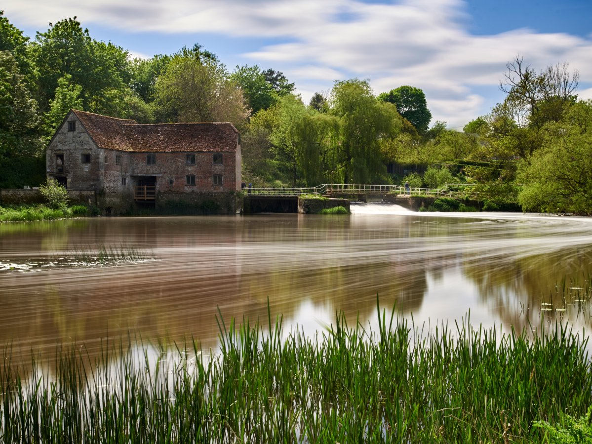 The Sturminster Newton Mill, believed to have been in Dorset since 1016, stopped producing flour in 1970.