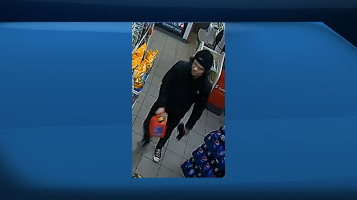 Edmonton police have released photos of a male they believe is responsible for an arson in west Edmonton in March.