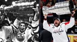 Continue reading: The Great One vs the Great Eight: Gretzky and Ovechkin face off for charity