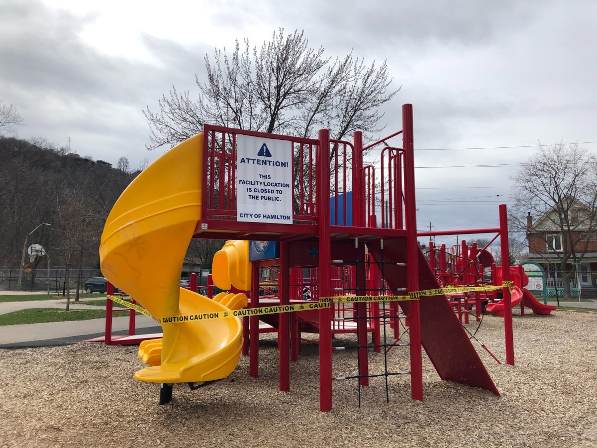 Local governments in Hamilton, Burlington and Niagara Region are reminding residents that outdoor amenities across each region are closed during the Easter Long Weekend.
