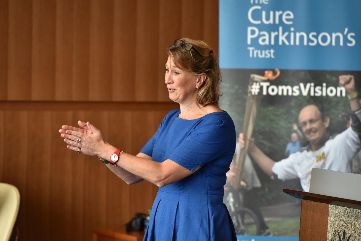 Cure Parkinson's Trust  deputy CEO Helen Matthews.