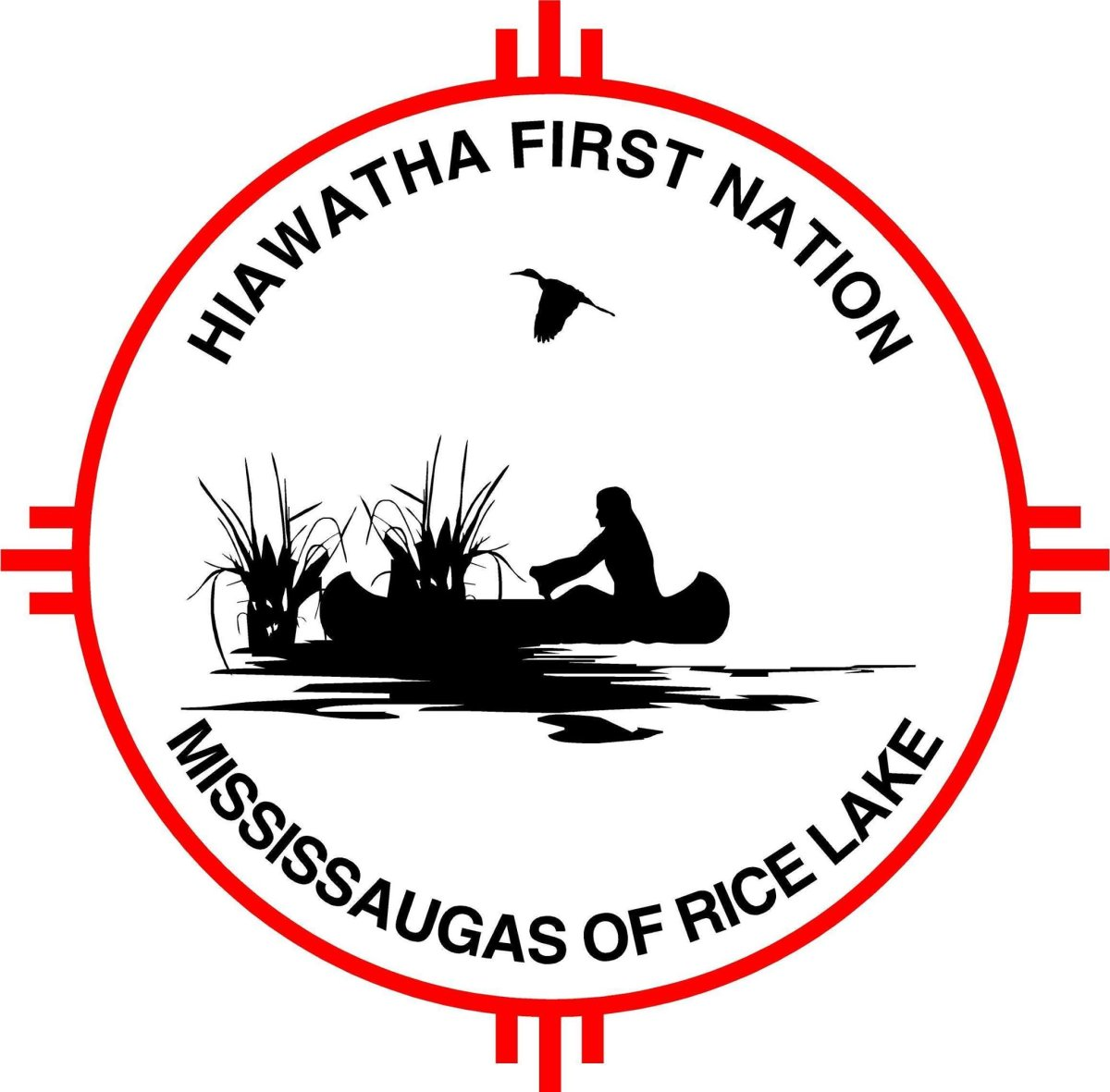 Hiawatha First Nation has a checkpoint entering the community during the coronavirus pandemic.