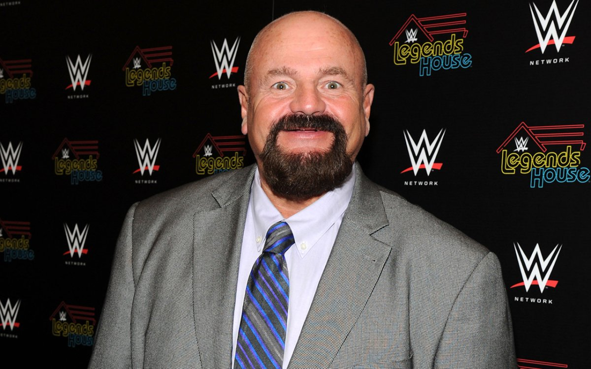 Cast member  Howard Finkel attends the WWE screening of 'Legends' House' at Smith & Wollensky on April 15, 2014 in New York City.