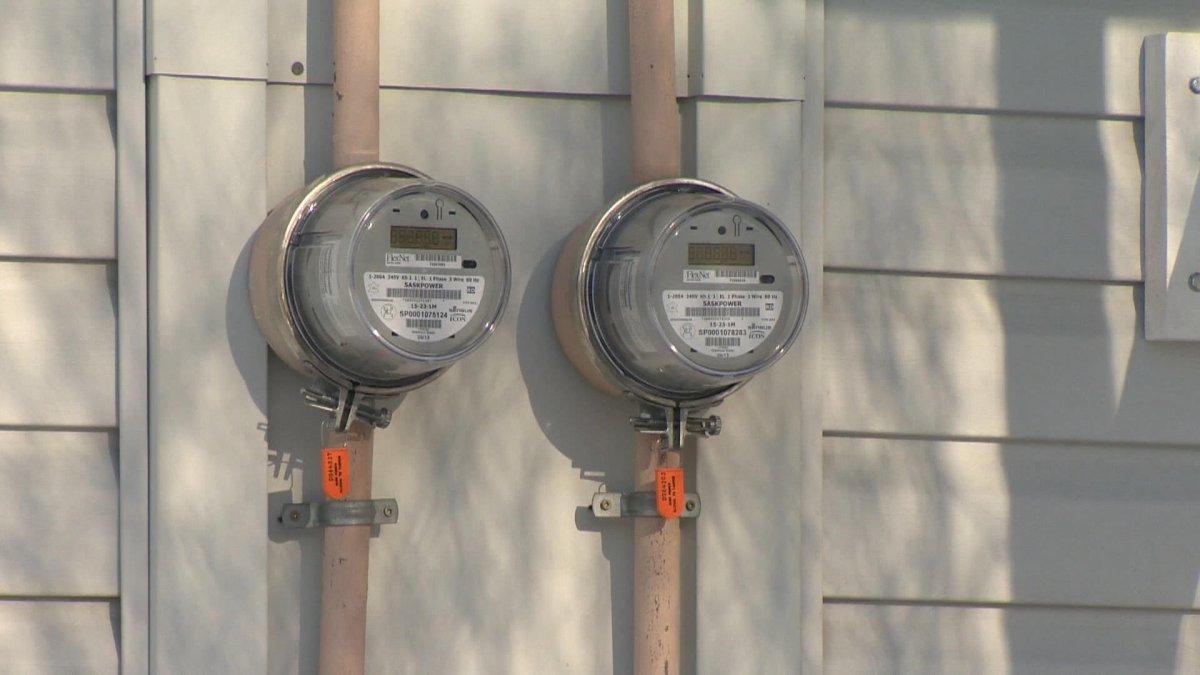 Hydro meters.