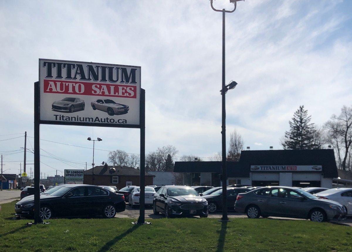 Titanium Auto LTD on Springbank Dr.