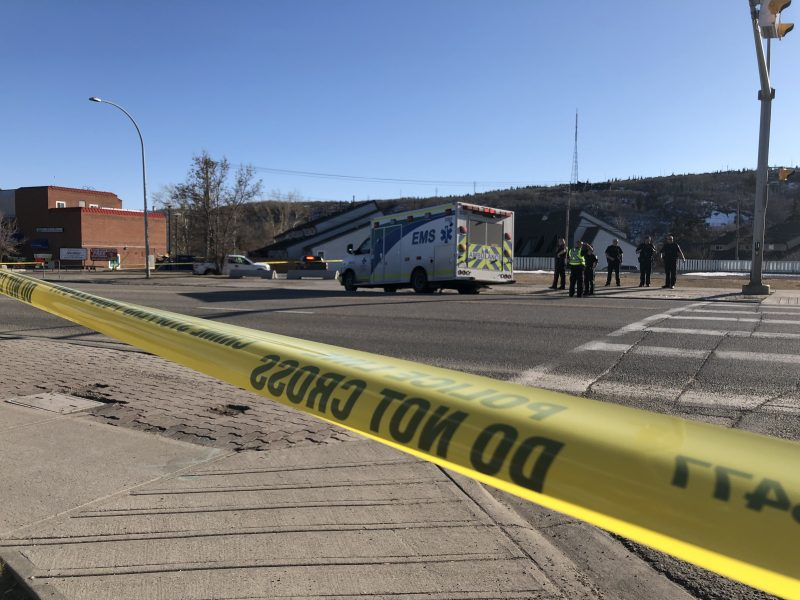 Calgary police are investigating after a man was hit by a vehicle on Thursday, April 16, 2020 and died.