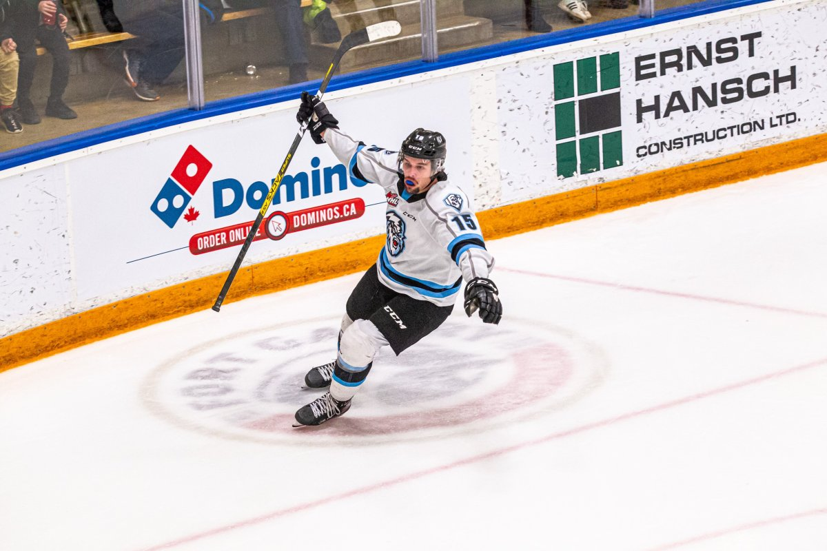 Isaac Johnson has signed with the AHL's Manitoba Moose.