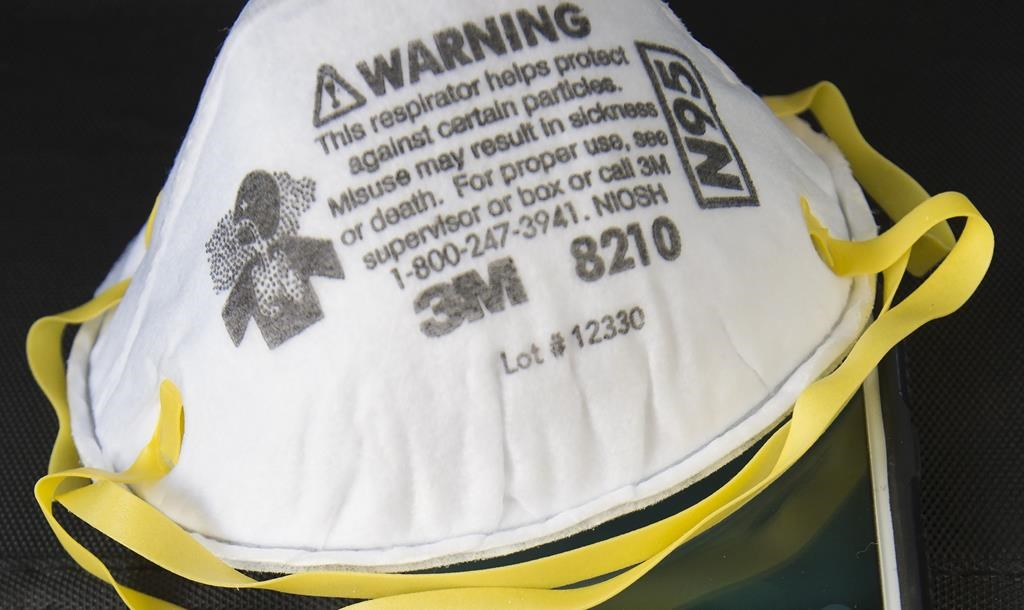 A group in Peterborough, Ont., is exploring the possibility of saving and decontaminating used masks.
