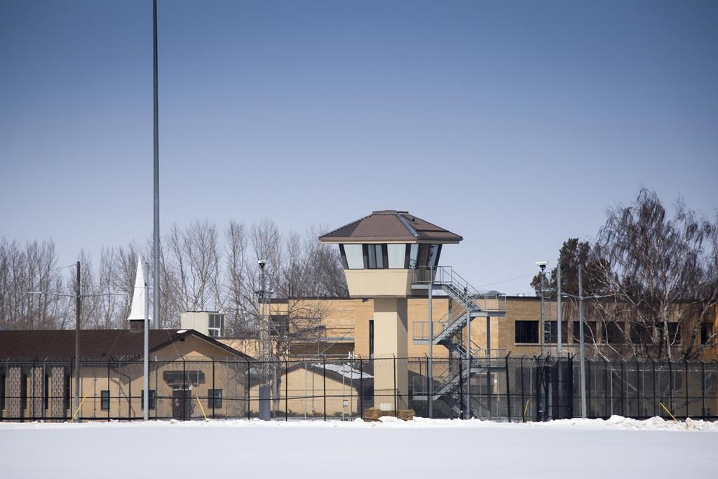 The Bowden Institution medium security facility near Bowden, Alta., Thursday, March 19, 2020.