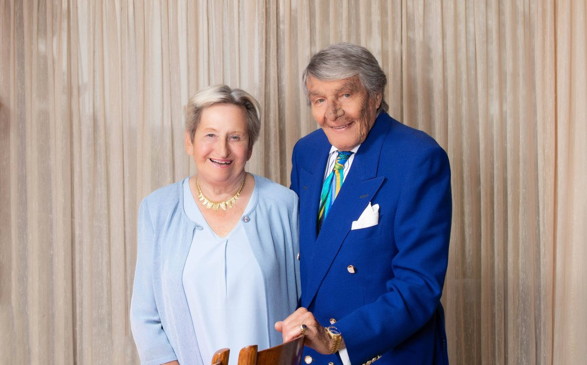 Philanthropists Charles and Margaret Juravinski say they will donate millions for COVID-19 research.