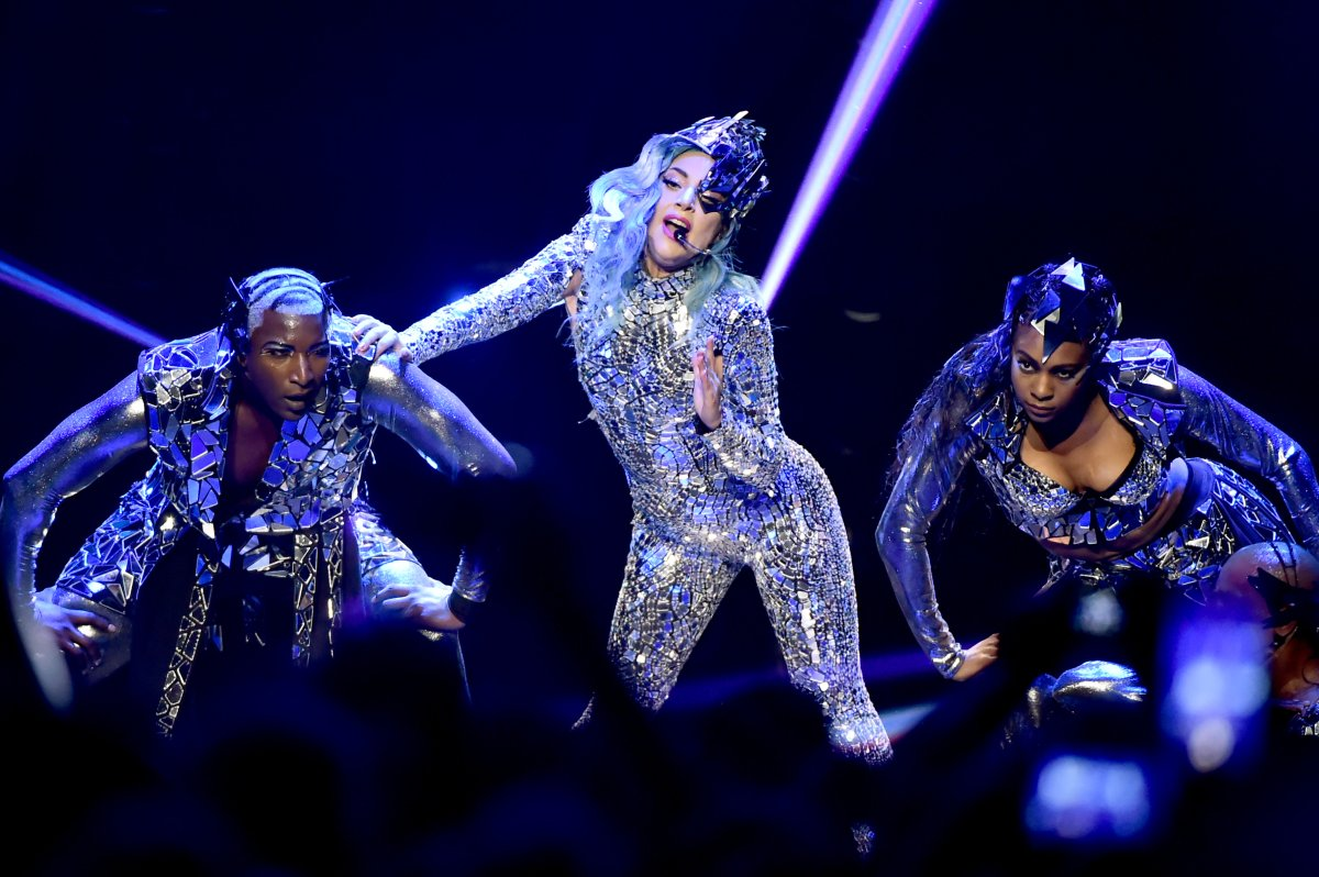 Lady Gaga performs onstage on February 1, 2020 in Miami, Florida.