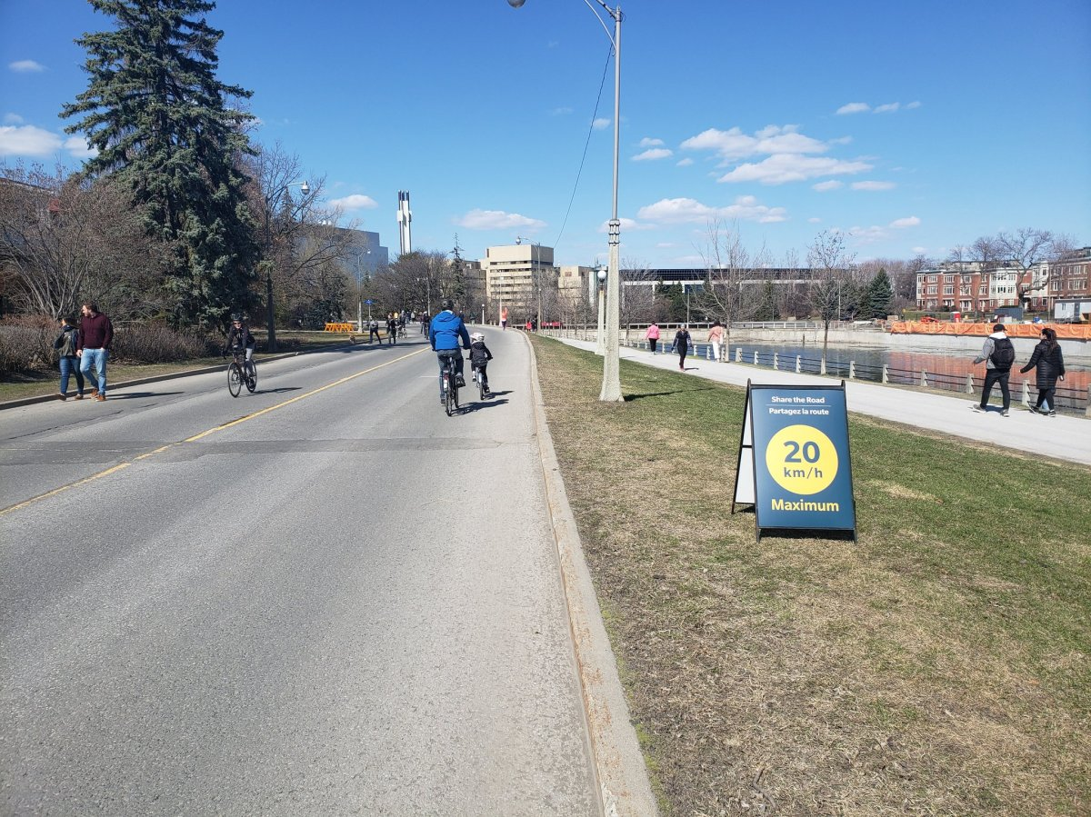 The NCC is opening up more of its parkways for cyclists and pedestrians this summer.