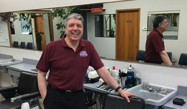 Winnipeg Barber Joe Porco.