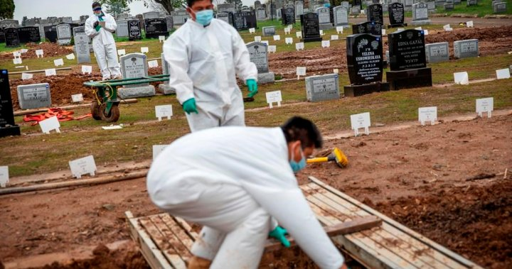 Coronavirus: Global death toll hits 2M amid vaccine rollout