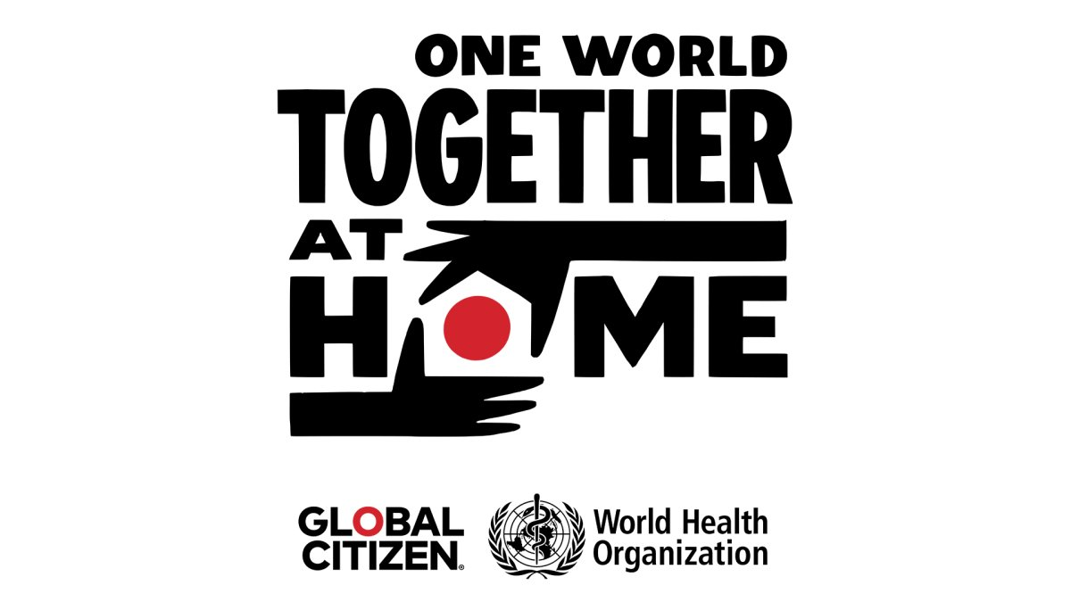 'One World: Together at Home.'.