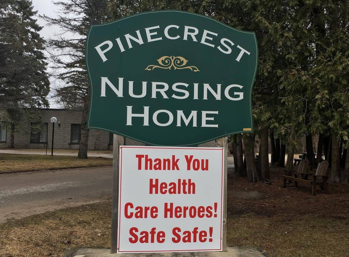 There have been no new coronavirus cases or deaths at Pinecrest Nursing Home in Bobcaygeon since April 9.