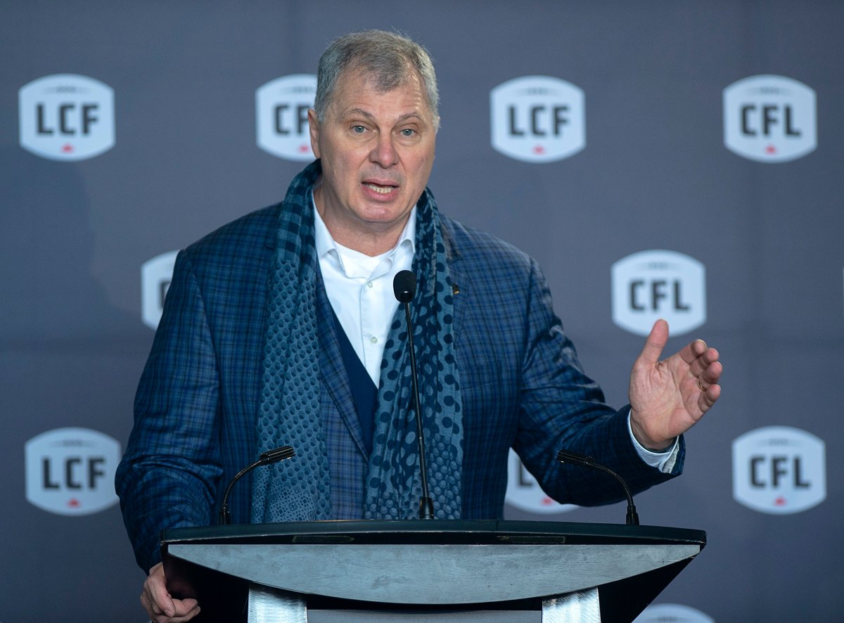 CFL commissioner Randy Ambrosie has asked the federal government for a multi-million dollar bail out amid the COVID-19 pandemic.