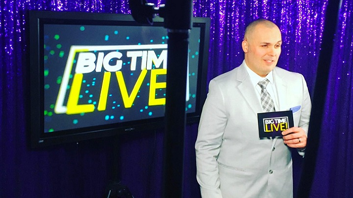 Weyburn's Richy Roy is offering some online entertainment during COVID-19 with his newly launched Big Time Live – an interactive game show on Facebook.