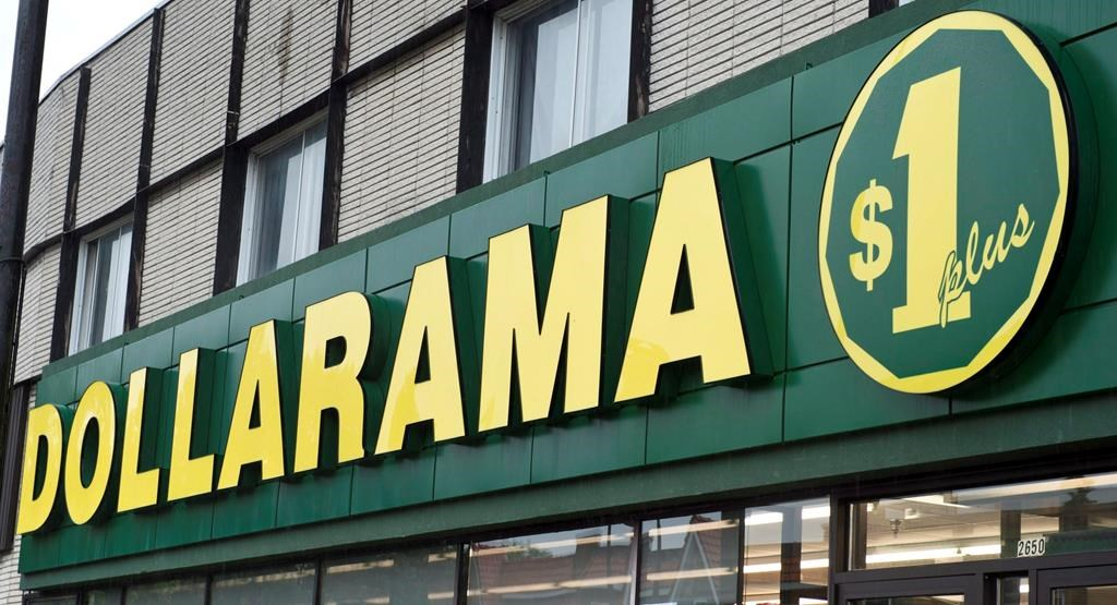 A Dollarama store is seen Tuesday, June 11, 2013 in Montreal.