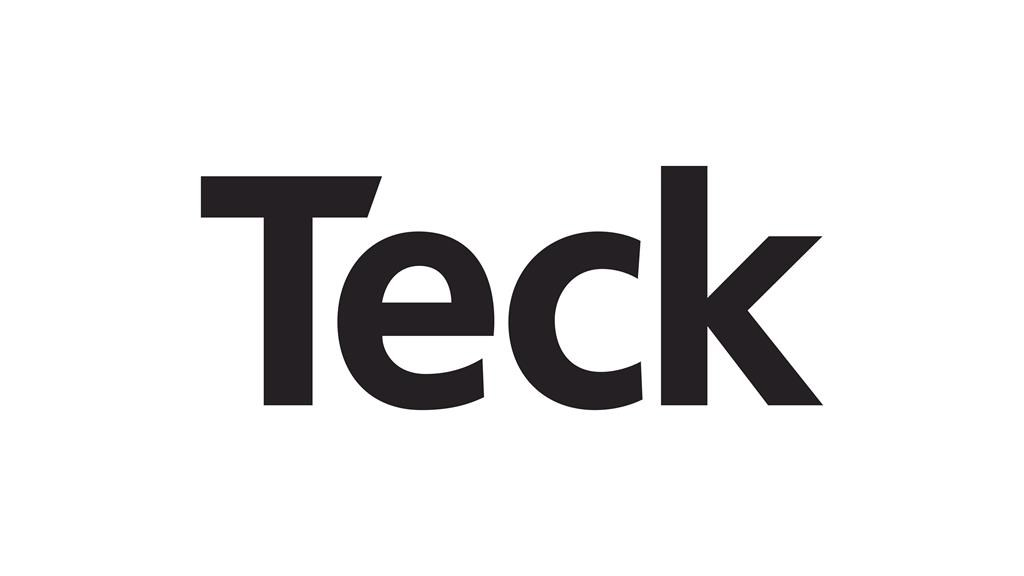The corporate logo of Teck Resources Limited is shown.