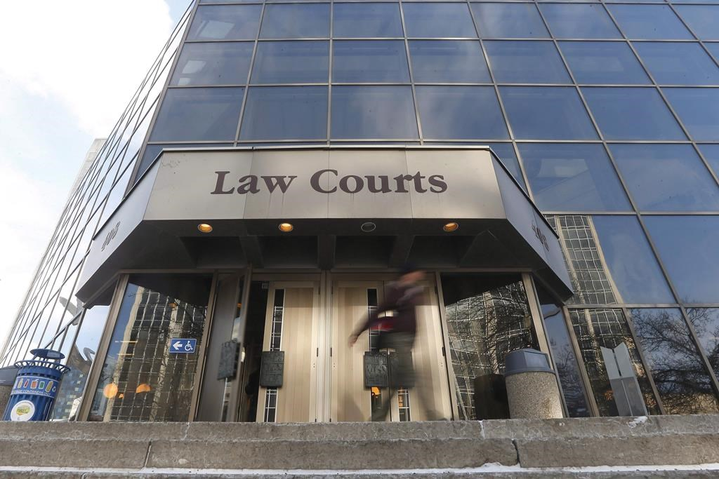The Law Courts in Winnipeg.