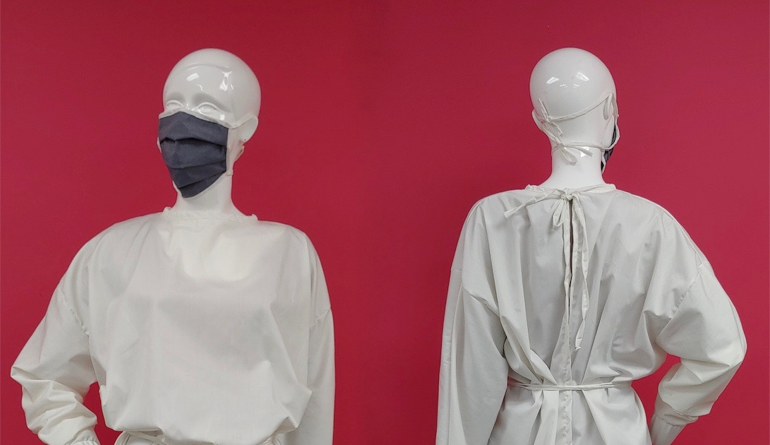 In just under four weeks, Carmina de Young (CY), a fashion design company and MLD Solutions Inc. (MLD) have transitioned to the production of gowns and masks to address shortage due to COVID-19.