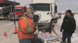 Continue reading: Alberta urges relief for hungry truckers 'absolutely critical to the supply lines'