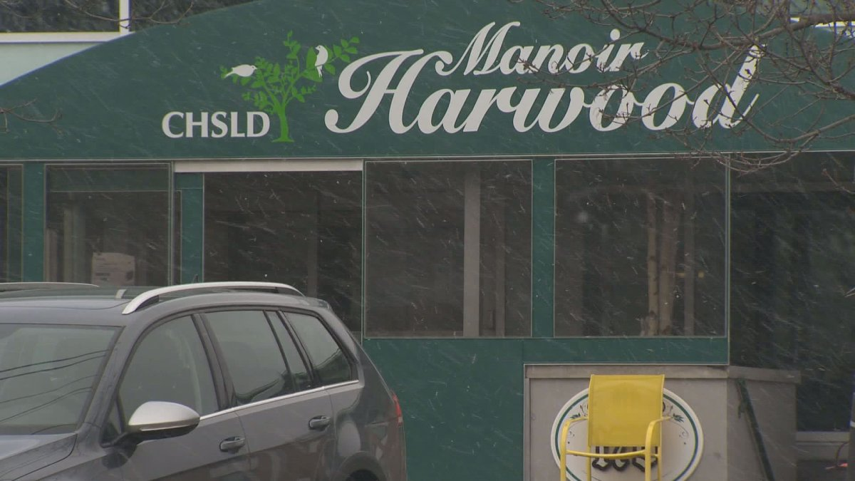 The CHSLD Manoir Harwood in Vaudreuil on April 17, 2020.