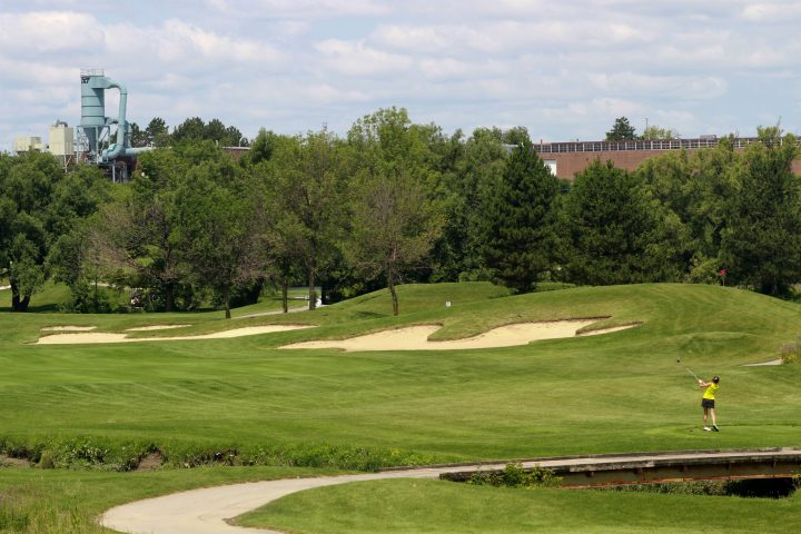 The Royal Woodbine golf course near Pearson International Airport in Toronto on July 8, 2015.