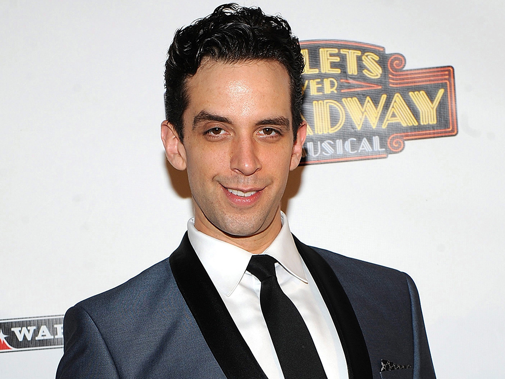 Actor Nick Cordero attends the after party for the opening night of 'Bullets Over Broadway' in New York City on April 10, 2014.