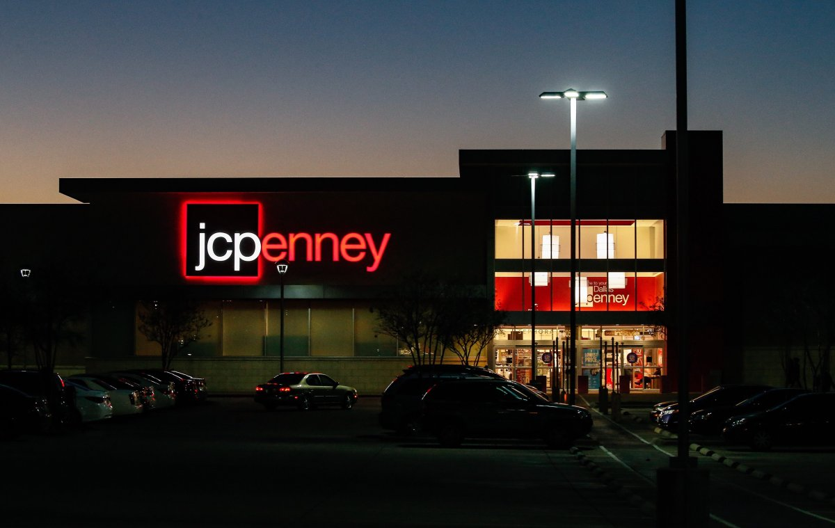 A view of a JC Penney (JCP) store in Dallas, Texas, Feb. 24, 2017.