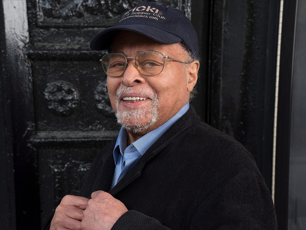 In this 2019 photo, musician Jimmy Cobb poses for the release of his album 'This I Dig of You'.