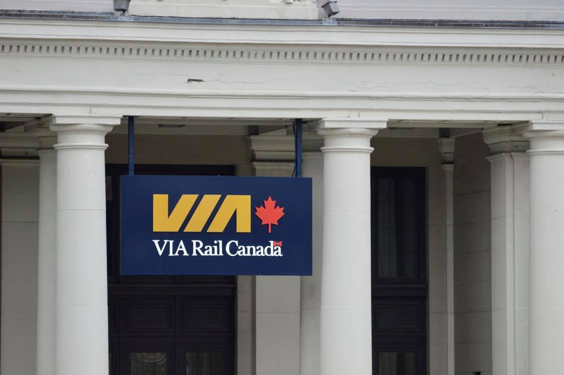 File - The VIA Rail Canada station in Halifax, N.S.